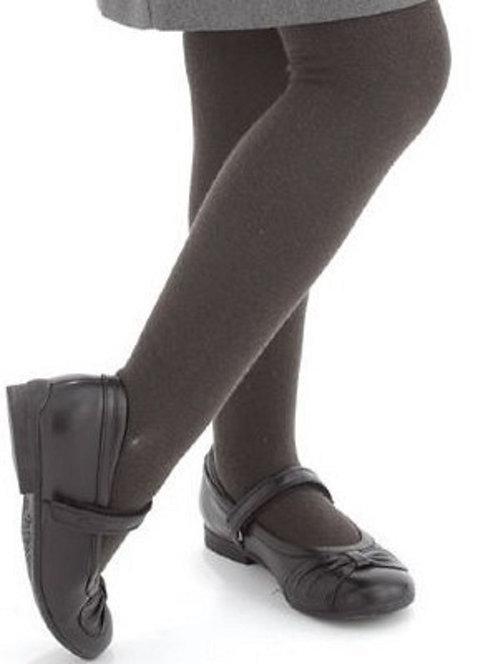 Soft Stockings / Footed Tights (5-7 Y) Dark Grey