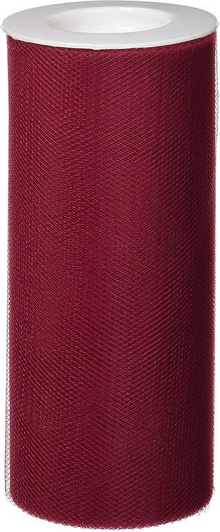 6 Inches * 25 Yards - Wine Red