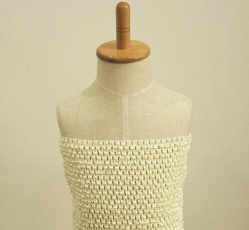 TuTu Crochet Top - Cream
