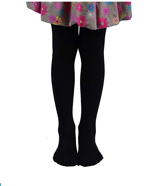 Soft Stockings / Footed Tights (5-7 Y) Black