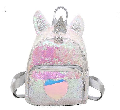 Unicorn Sequin Satchel Backpack