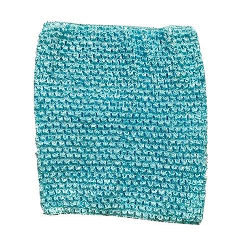 TuTu Crochet Top - Aqua Blue