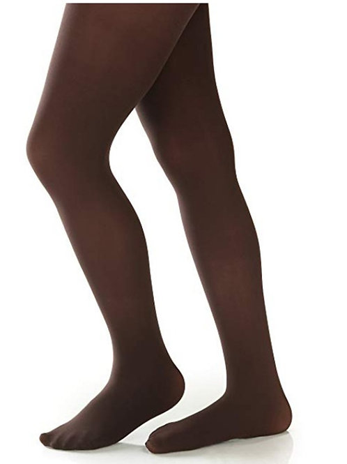 Soft Stockings / Footed Tights (5-7 Y) Brown