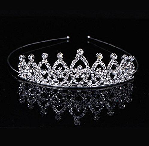 Rhinestone Studded Crystal Tiara /Crown for Kids/Girls/ Women
