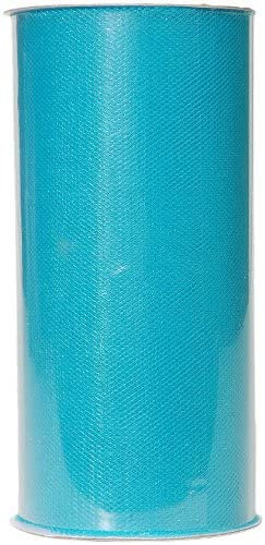 6 Inches * 25 Yards - Turquoise Blue