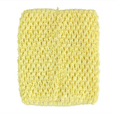 TuTu Crochet Top - Light Yellow