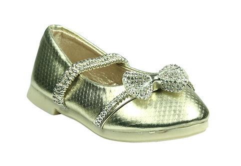 Princess Ballet Shoes, Bowknot - Gold