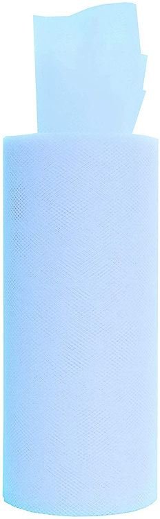 6 Inches * 25 Yards - Light Blue