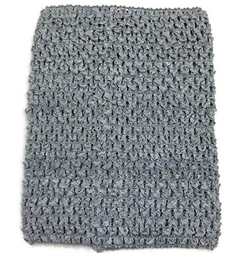 TuTu Crochet Top - Grey