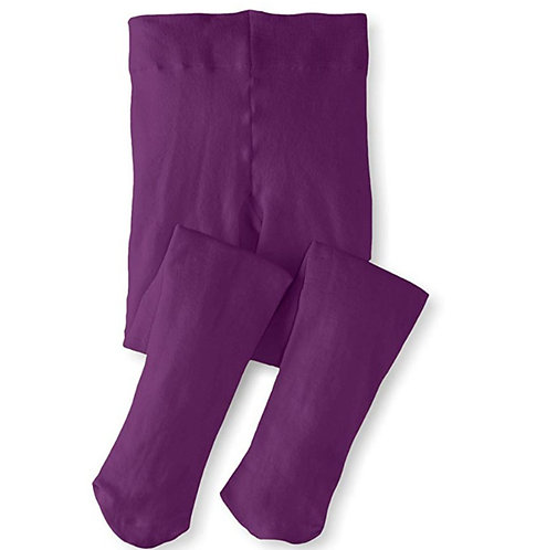 Soft Stockings / Footed Tights (5-7 Y) Puple
