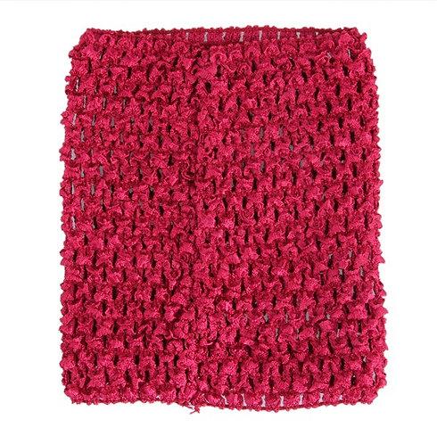 TuTu Crochet Top - Wine Red