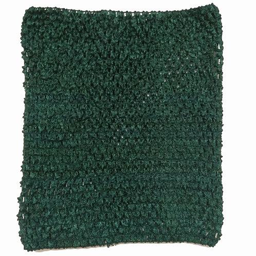 TuTu Crochet Top - Dark Green