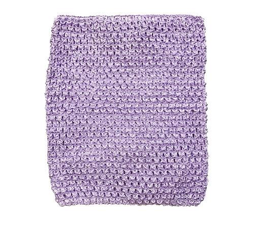 TuTu Crochet Top - Lavender