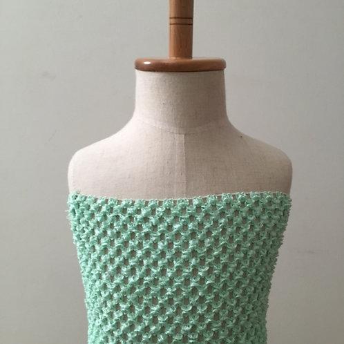 TuTu Crochet Top - Mint Green