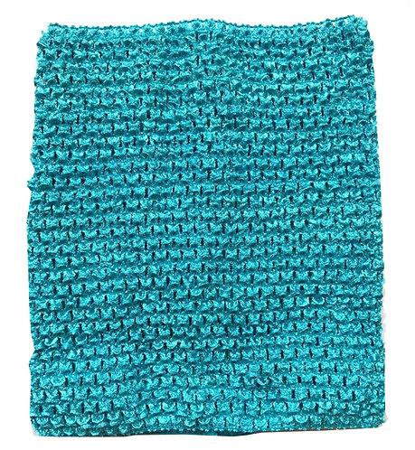 TuTu Crochet Top - Turquoise Blue