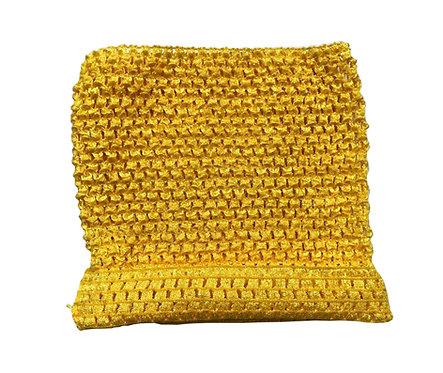 TuTu Crochet Top - Yellow