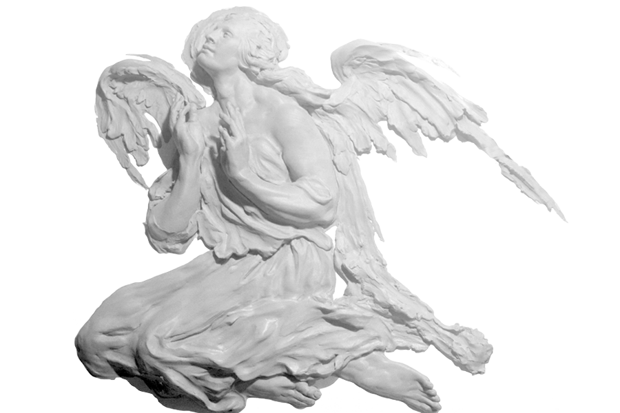 Altar Angel of the West Clay