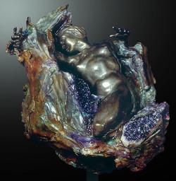 Amethyst Geode Impact Fragment