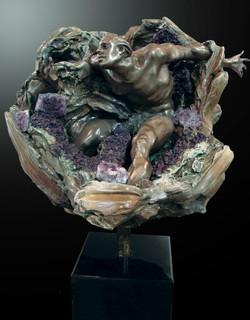 Amethyst Geode Stabilized Fragment