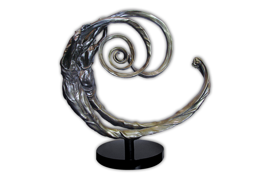 The Golden Spiral Bronze