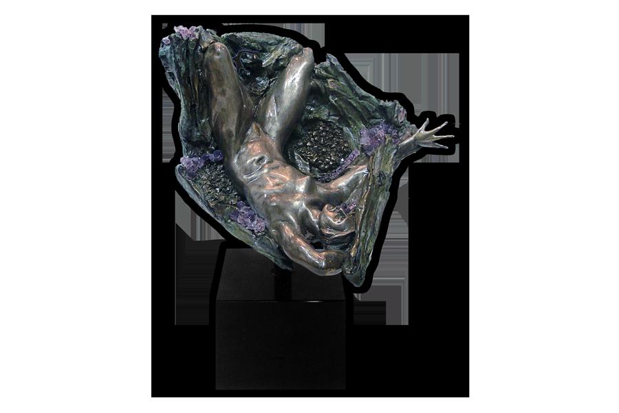 Amethyst Geode Inverted Fragment