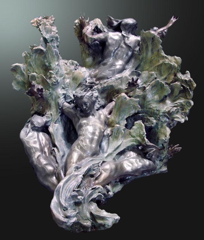 Sea Creates Bronze
