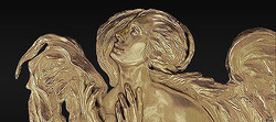 Altar Angel of the West Bronze