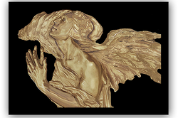 Altar Angel of the East Bronze