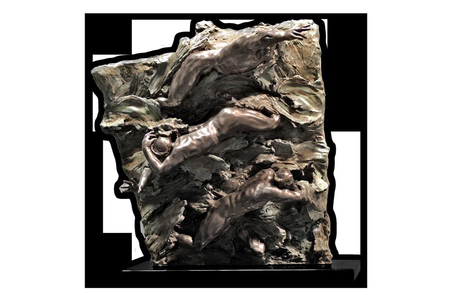 Pacific Sea Wall Bronze