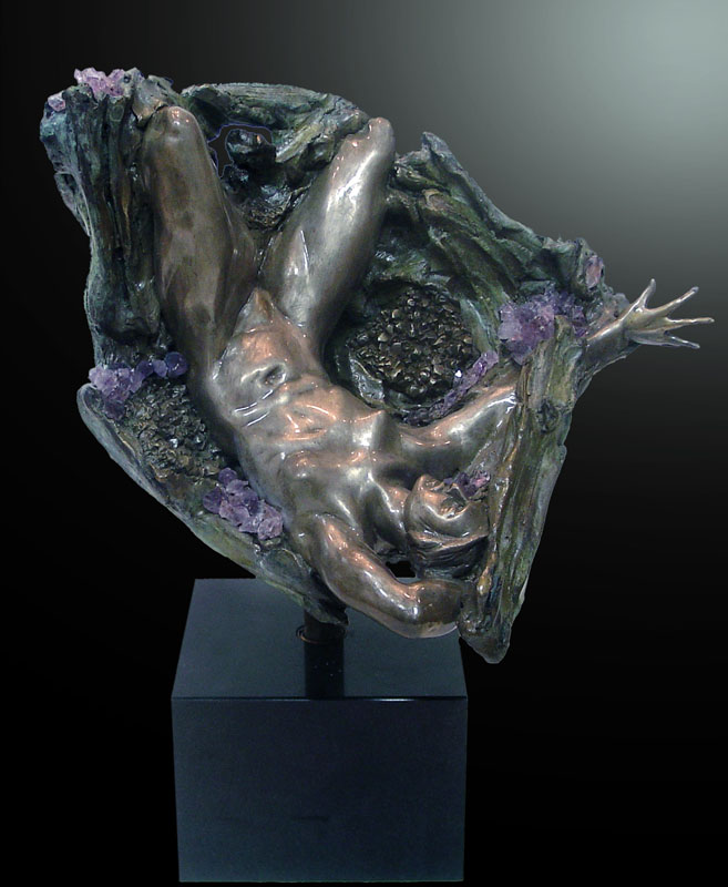 Amethyst Geode Inverted Fragment