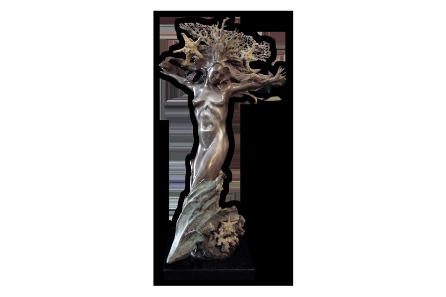 Devonian Sea Fan Bronze