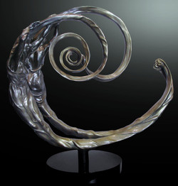 The Golden Spiral Bronze
