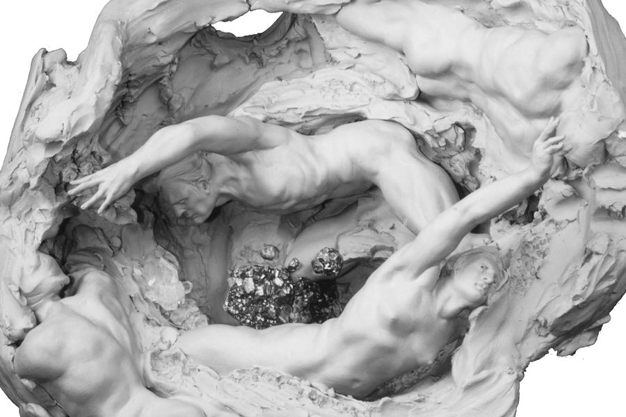 Amethyst Geode Grand Casement Clay