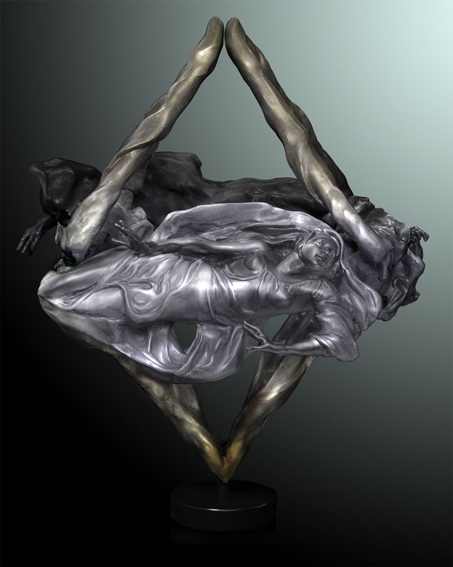 Octahedron Bronze