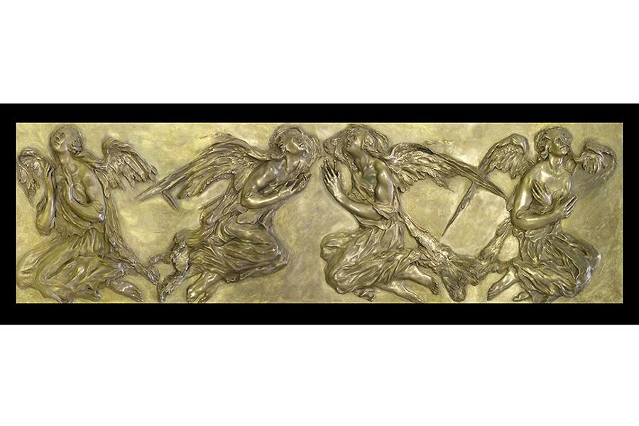 The Los Angeles Angel Frieze Bronze