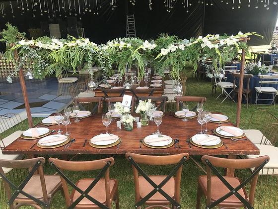 Mesa de boda invitados