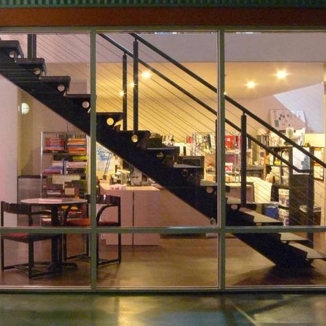 사무실 복층 계단디자인