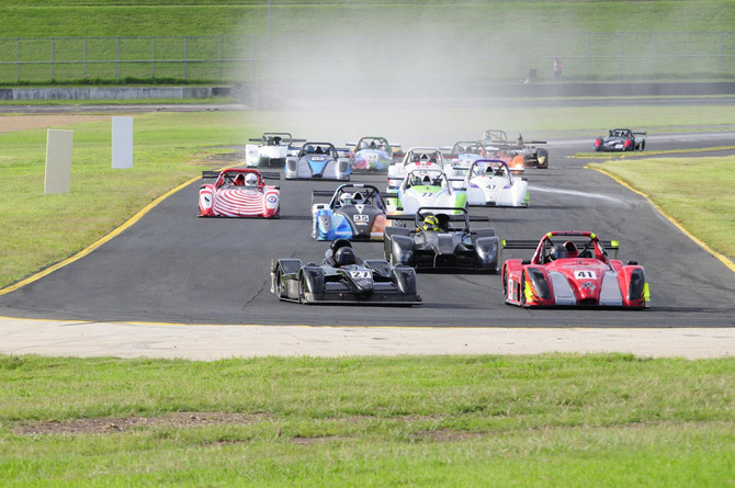 Muston and Beck on top in SMSP SuperSports opener