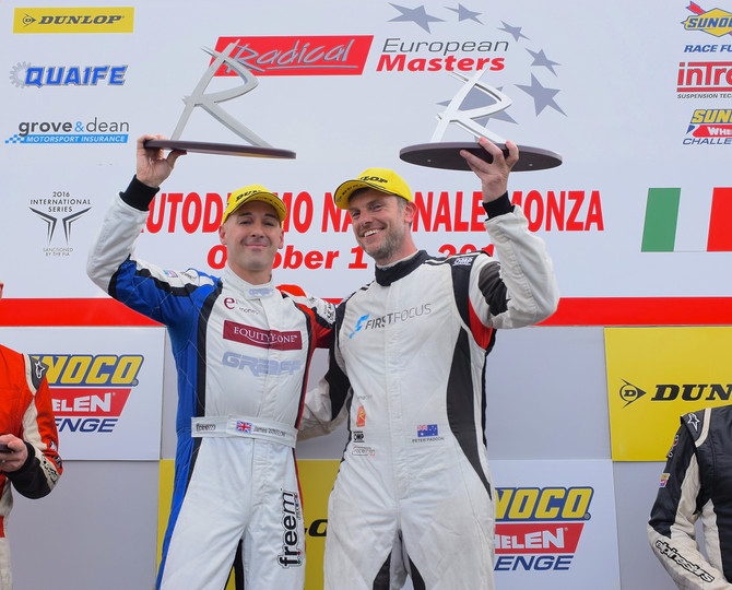 Paddon takes victory in Monza