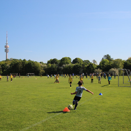 18.05.19, F2-Jugend mit 5:1 (HZ 2:1) siegreich beim FC Teutonia München