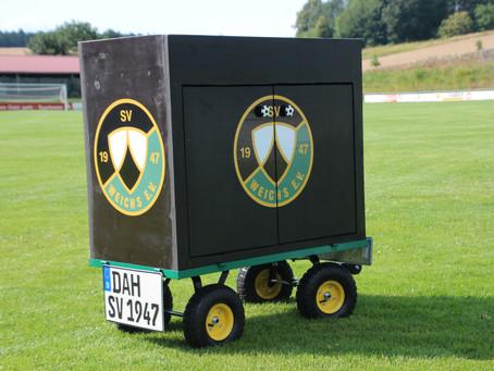 Bollerwagen für den SV Weichs