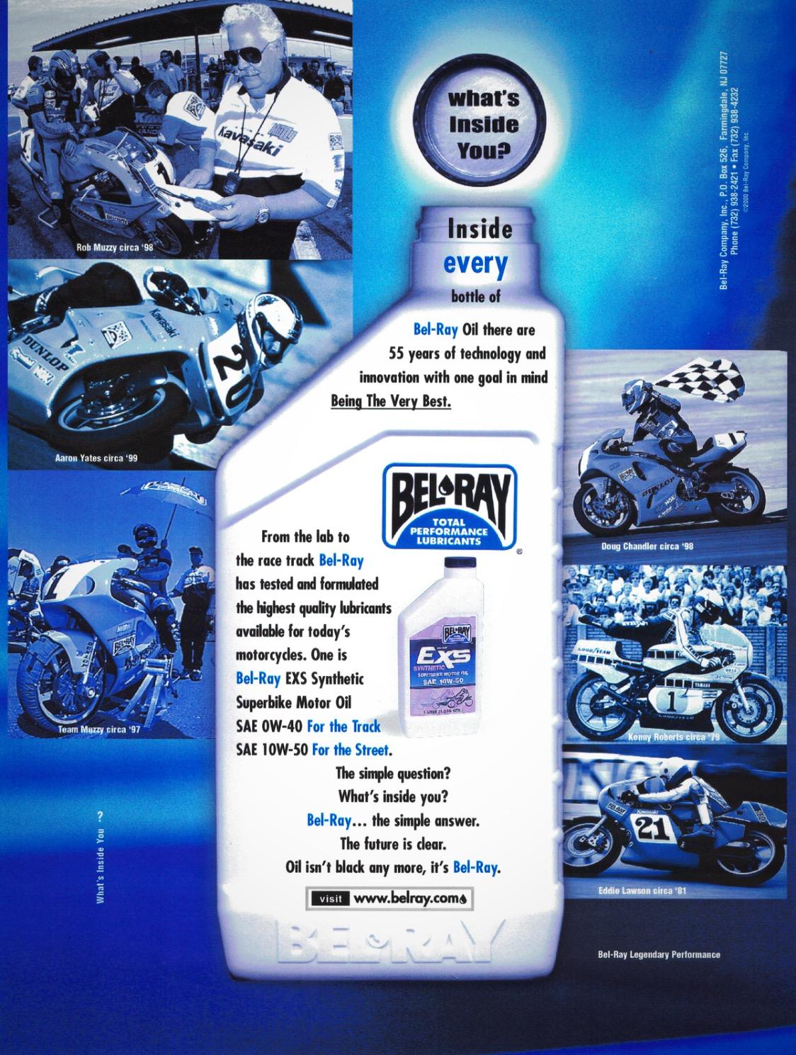 Bel-Ray Muzzy Ad
