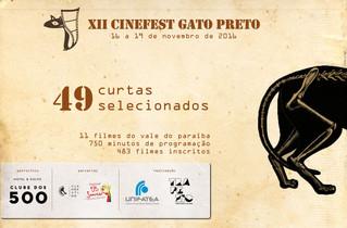 Selecionados para o XII Cinefest Gato Preto