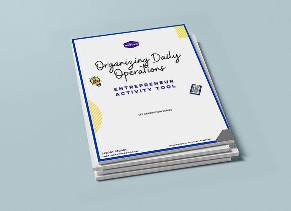 Organizing Daily Operations  - Digital Workbook
