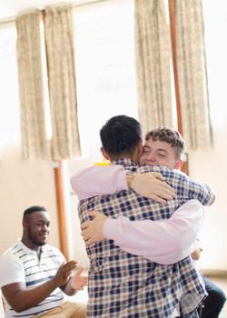 Gay Support Hug