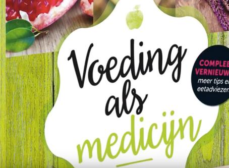 Onze contentpartner Mixcom geeft boek uit: Voeding als medicijn.