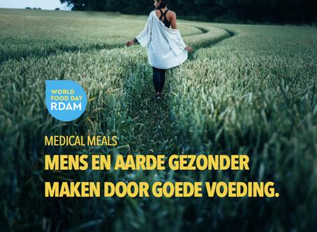 Medical Meals op de World Food Day in Rotterdam.