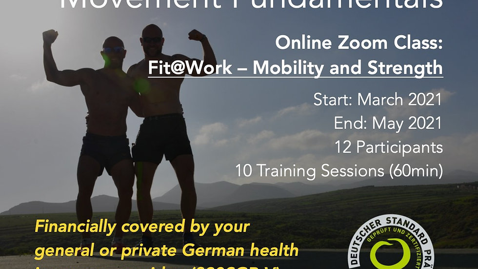 Movewell® Fit@Work – Mobility and Strength