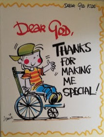 Dear God, Thanks for Making Me Special!