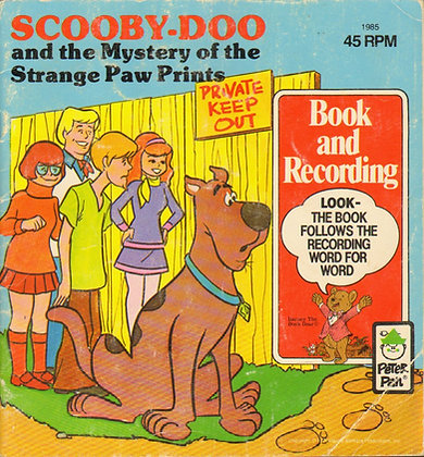 Scooby-Doo and the Mystery of the Strange Paw Prints